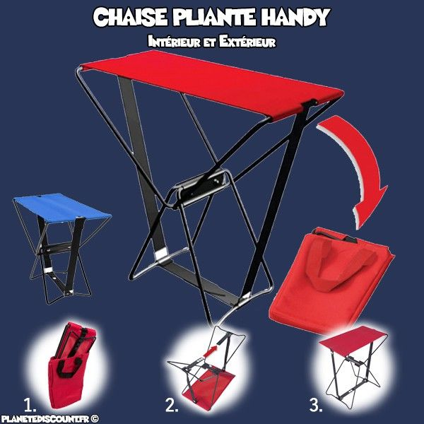 Chaise-pliante-Handy miniature 1
