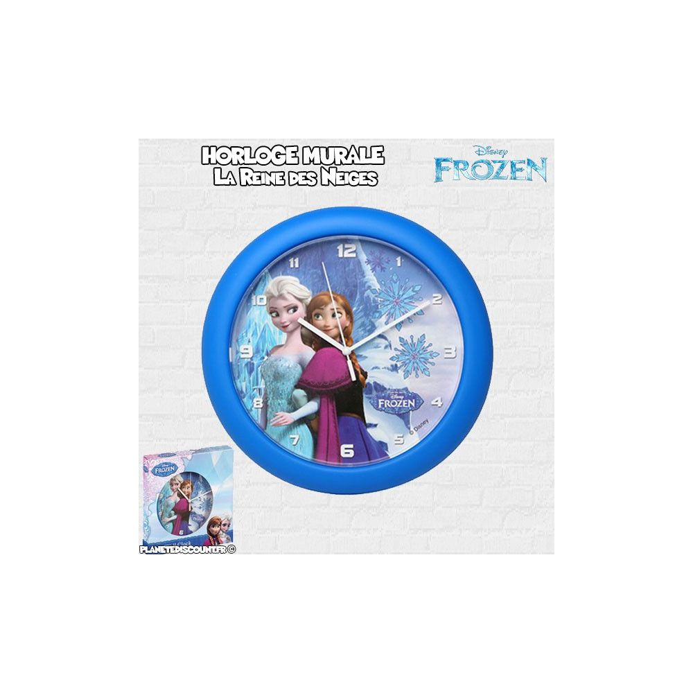 Horloge-Murale-Frozen-de-25-cm-Disney-La-reine-des-neiges